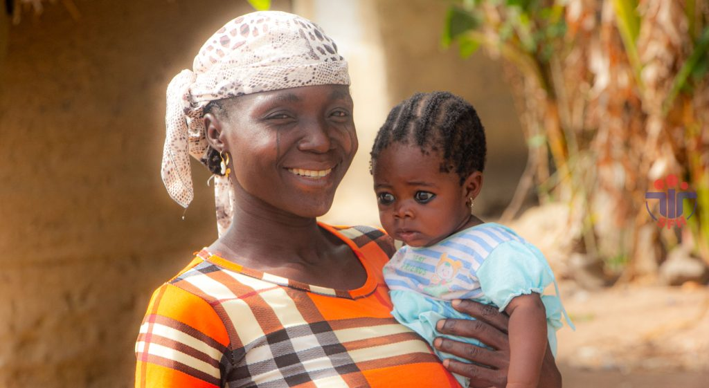 SFH Nigeria, mother and child. Photo taken by @parapaso