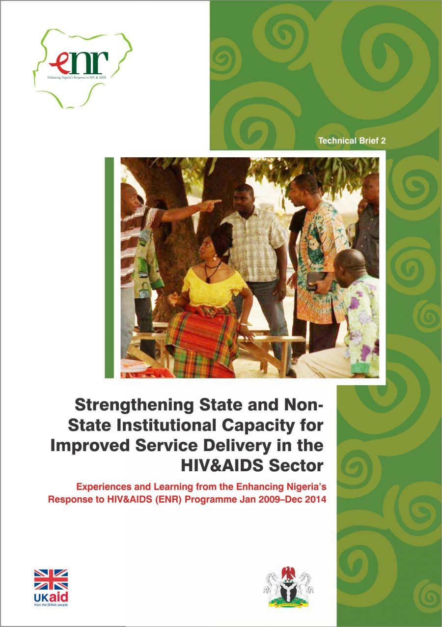 Enhancing Nigeria's Response to HIV&AIDS Programme Technical Brief 2