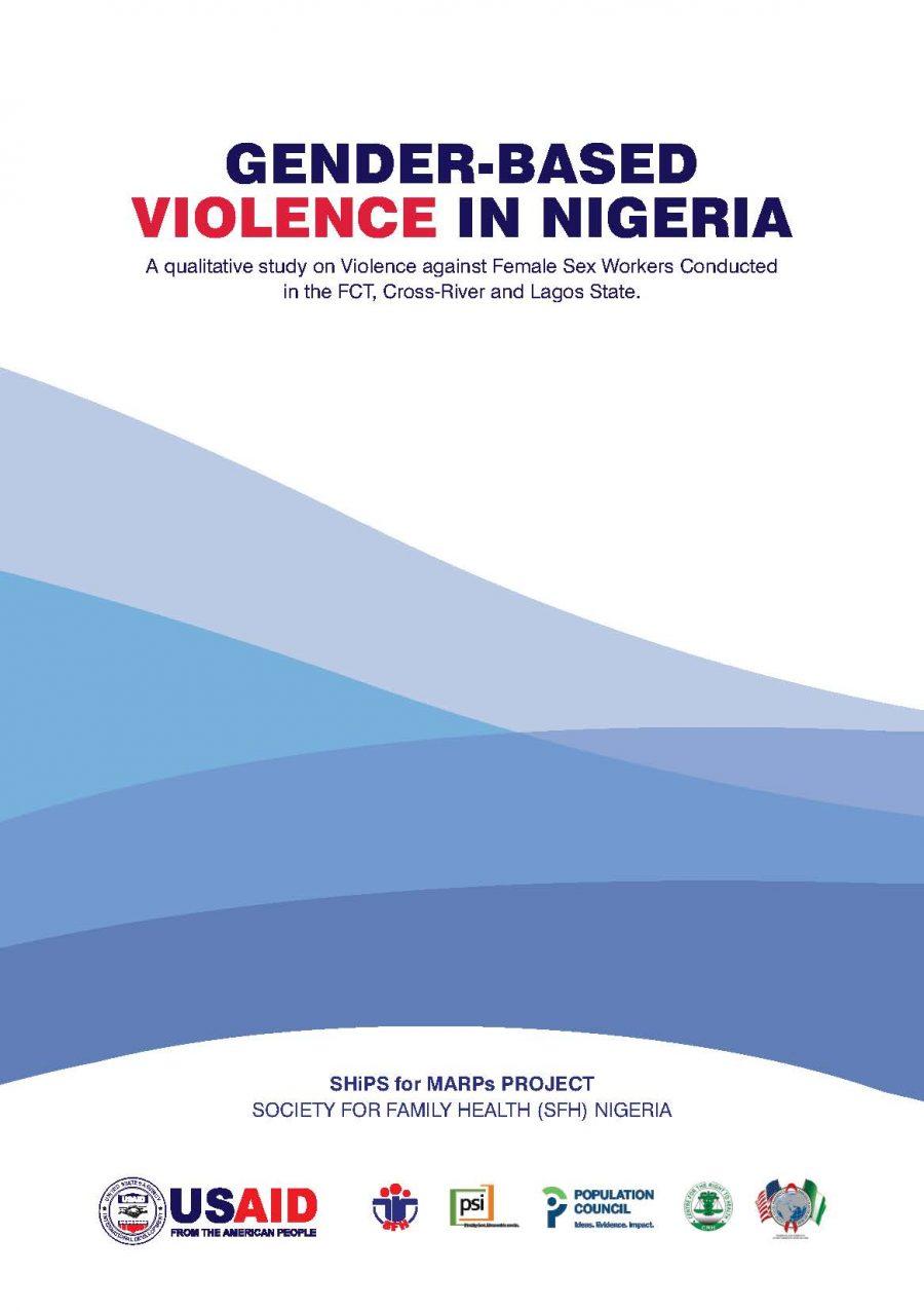 Gender Based Violence Study Report SHIiPS for MARPs