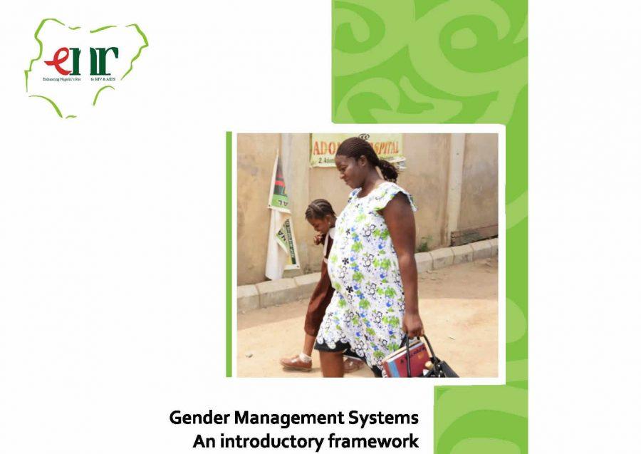 Gender Management Systems (ENR 2013)