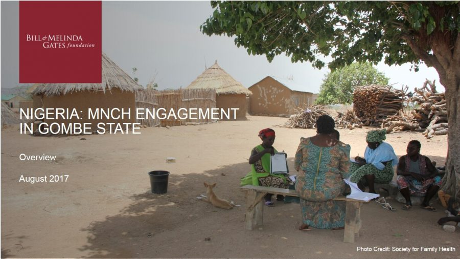 Nigeria: MNCH Engagement in Gombe State