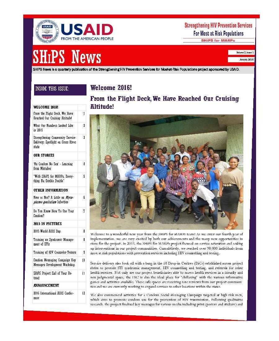 SHiPS News Vol 2 Is 1 2016