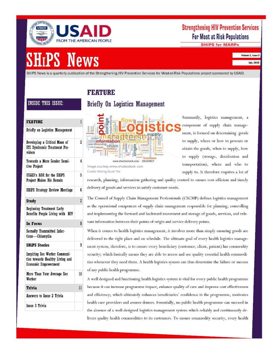 SHiPS News Vol 1, Is 3
