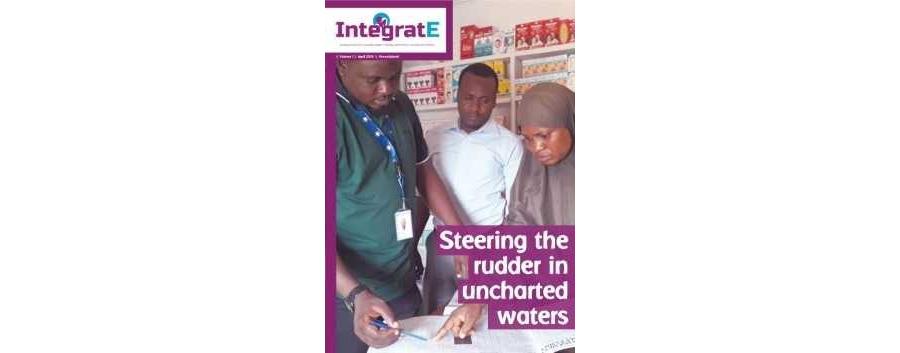 IntegratE Quarter 1 Newsletter